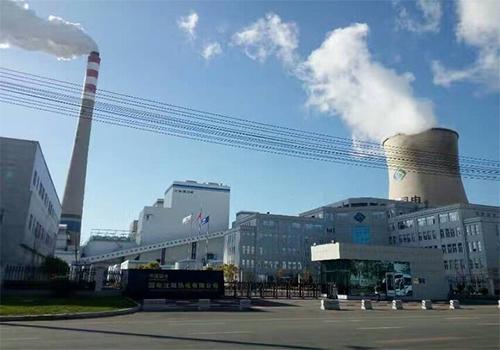 30MW机组给煤机现场